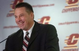 Throwback to Butch Jones' days as the head man of the Central Michigan Chippewas.  Photo credit to mlive.com