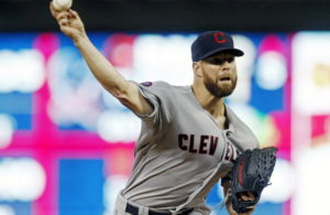 Corey Kluber leads Cleveland to opening round win. Photo credit to image.cleveland.com